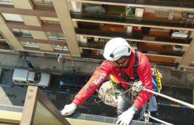 Trabajo reparación balcones y terrazas